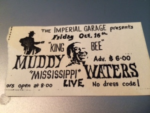 Muddy Waters stub