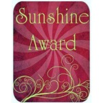 Sunshine award - pink