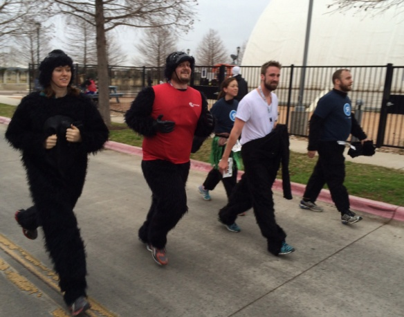 Gorilla Run raises $35,000