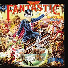 Elton John - Capt Fantastic album cover