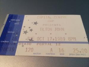 Elton John stub
