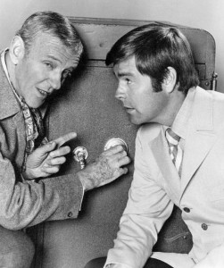 Fred Astaire and Robert Wagner 1969