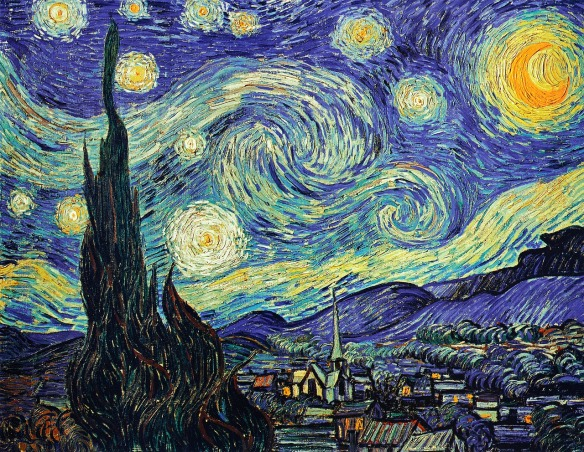 Vincent Van Gogh, The Starry Night  (courtesy of Pixabay)