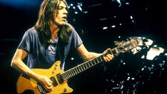 AC/DC's co-founder and guitarist Malcolm Young